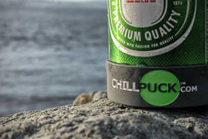 The Chill Puck Beverage Cooler Keeps Drinks Nice and Chilly