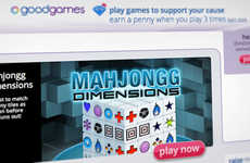 Charitable Browser-Based Gaming - GoodGames Lets You Donate to Charity as You Play Games Online