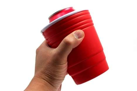 Red Cup Drink Koozie