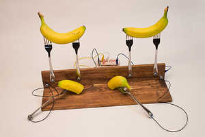 Pete Prodoehl Offers Banana games That Uses Pieces of Fruit