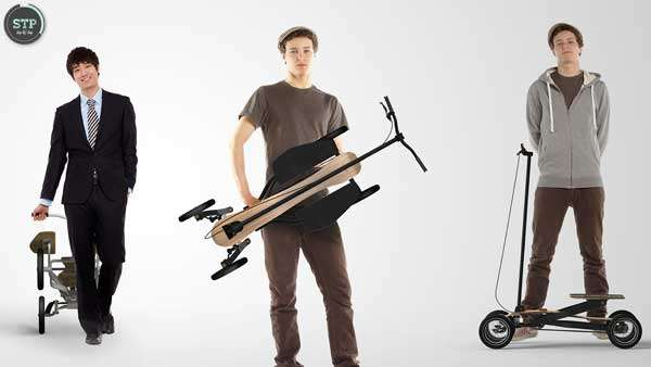 Customizable Foldable Scooters