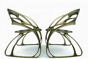 Eduardo García Campos' Chairs are Inspired by the Monarch Butte