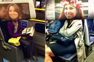An Anonymous Photographed Transit Passengers with Celebrity Faces
