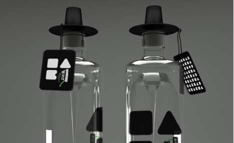 Accessorized Bottle Branding - Every Piece of Masida Packaging is Capped with a Korean Hat