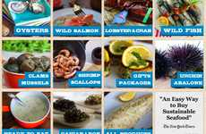 Sustainable Web-Ordered Seafood - The i love blue sea platform sources orders from 15 US fishermen