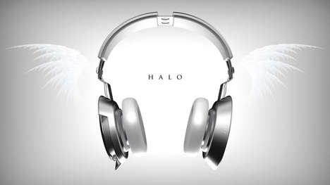Laser Light Show Headphones - The Halo Wireless Interactive Headphones are Designed for Club DJs