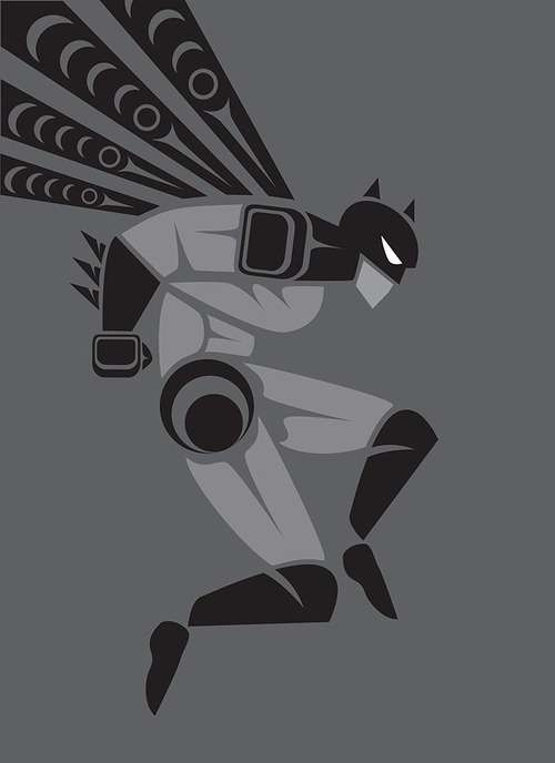 Tribal Superhero Depictions
