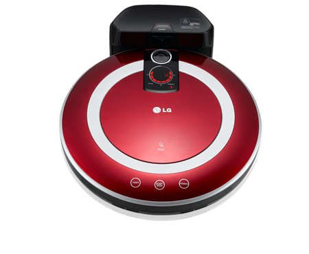 Voice-Activated Vacuums - LG Launches the 'Roboking' Robotic Vacuum Cleaner in Korea