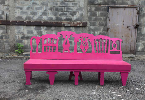 Lollipop Bench