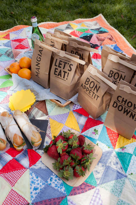 Personalized Picnic Bags  - The