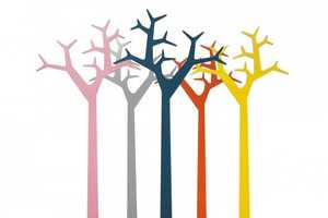 Create a Colorful Forest at Home with the Swedese Metal Tree Design