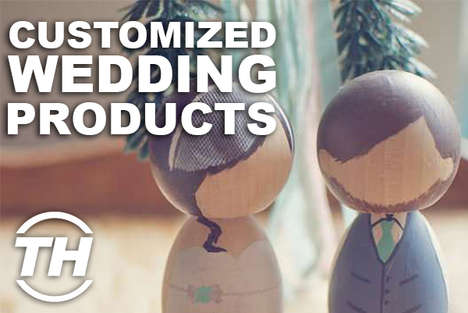 customized wedding products