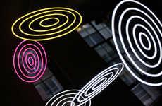 Neon Vortex Reflectors