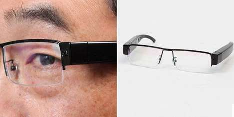 Camera-Incorporated Spectacles - The Mita Mamma Glasses Record Your Surroundings in High Definition