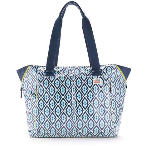 Dapper Diaper Bags - The Jonathan Adler x Skip Hop Diaper Bag is Mistakable for a Traditional Tote