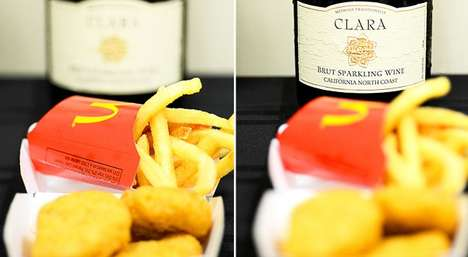 Unlikely Alcohol Pairings - The Guide to Fast Food & Wine Pairings Classes Up Casual Meals