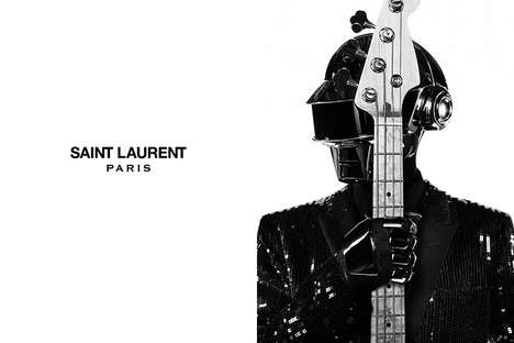 saint laurent music project x daft punk
