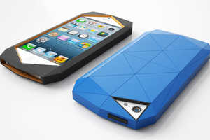 The Stealth iPhone Case is a Sheath of Multifaceted Armor for Smartphones