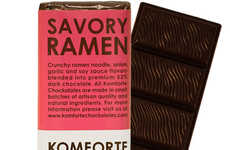 Soy Sauce Dessert Bars - The Savory Ramen Chocolate Bar Combines Soup and Sweets