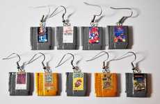 Miniscule Game Cartridge Jewelry - Ohmygeekness's Video Game Charms are Smaller Than a Penny