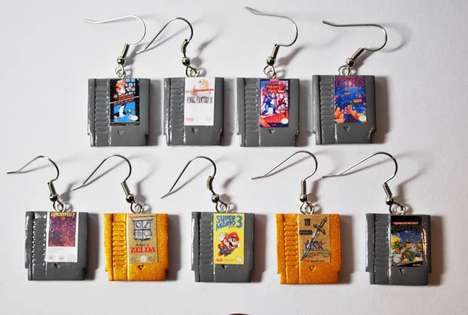Miniscule Game Cartridge Jewelry - Ohmygeekness