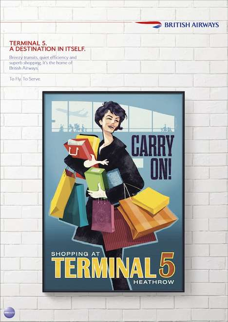 Era-Inspired Print Campaigns - Vintage Advertising is Being Brought Back by BBH Asia Pacific