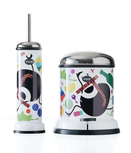 Designer Cleaning Kits - This Limited Edition Bin and Brush Will Have You Scrubbing in Style