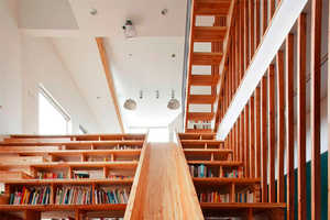 Korean Architects 'Moon Hoon' Offers a Playful Room to Read Books