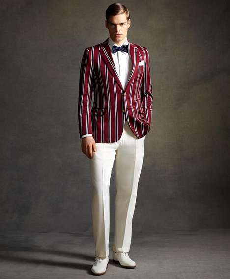 Dapper Film Fashion  - The Great Gatsby Style Influences the Latest Brooks Brothers Collection