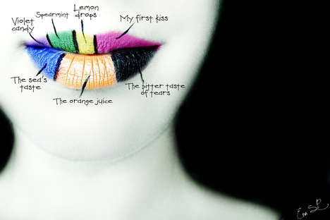 Fruity Lip Art