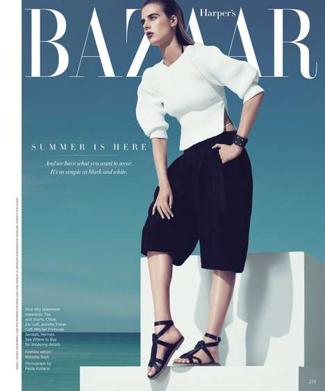 Harpers Bazaar May 2013