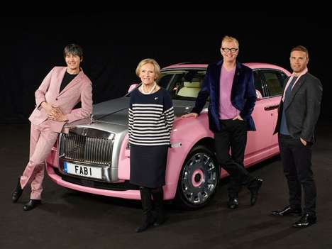 Luxe Cancer Awareness Cars - The FAB1 Rolls-Royce Seeks $1 Million Pounds for Breast Cancer Care