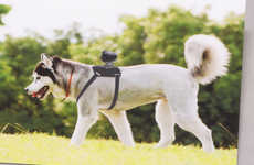 Canine-Mounted Camera Brackets - The Sony AKA-DM1 Accessory is Made for Dogs