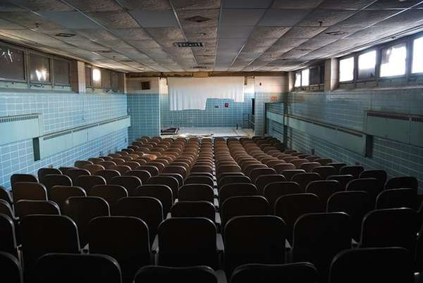Dilapidated Theater Photography