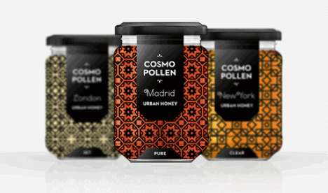 Cosmopollen Honey Packaging