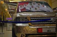 Custom Coin-Clad Vehicles - A Car Workshop in Dubai Specializes in Change-Covered Custom Luxury Cars