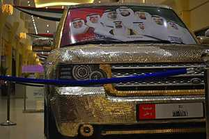 A Car Workshop in Dubai Specializes in Change-Covered Custom Luxury Cars