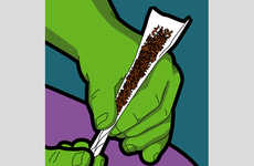Superhero-Exposing Illustrations (UPDATE) - Gregoire Guillemin Exposes the Life of Superheroes
