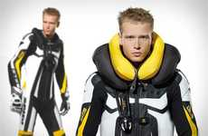 Inflatable Motorcycle Jackets - The Designers at Spidi Have Created a Suit to Prevent Neck Injuries