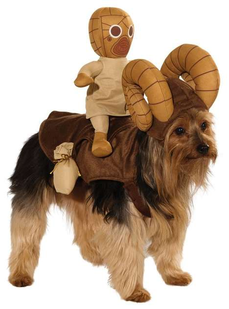 Sci-Fi Puppy Costumes - These Star Wars Costumes are for Dogs with an Affinity for the Force