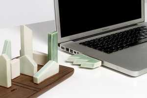 Vanessa Redondo's Porcelain USB Drives are Unfunctional but Appealing