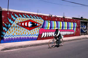 Paul Insect and Sweet Toof Create Vibrant Works in Mexico City
