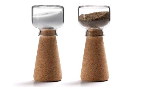 Par Cork Salt + Pepper Shaker