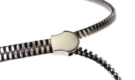 Zipper Necklace by Frans van Nieuwenborg and Martijn Wegman