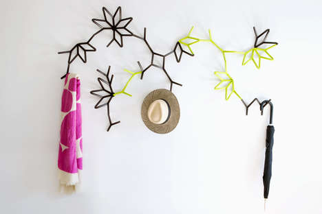 ivy coat hooks by MOS Architects