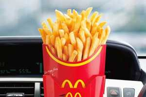 McDonald's Japan Offers Free Fry Holder For Its Customers