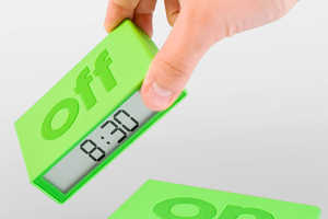 The Lexon Flip Timepiece Makes Setting the Time Super Efficient