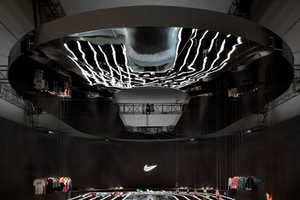 Studio-at-Large's Nike Exhibit Depicts the High Tech Art of Motion