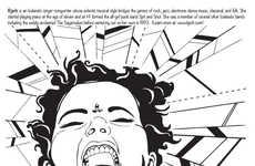 Feminist Rockstar Sketchbooks