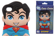 Miniature Comic Hero Cases - The DC Chara Superman iPhone Case Pays Tribute to the Iconic Character
